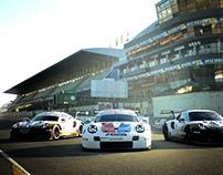 PORSCHE 911RSR Le Mans 2019 liveries replica