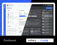 Skyeng Dashboard Light & Dark Mode