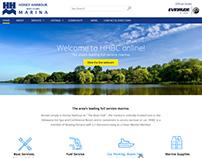 Honey Harbour Boat Club - Website Design