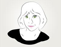 Linwood (vector portrait)