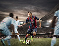 FC Barcelona Action