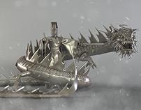 Chinese God - Tigong Figure