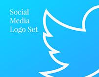 Social Media Logo Set