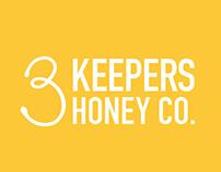 3 Keepers Honey Co. Branding