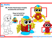 Little Tikes- Waffle Blocks Buddy concepts