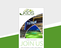 All in for Kids - Invitation & Flyer Design
