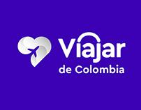 Branding Viajar de Colombia By DESIGNARE agencia