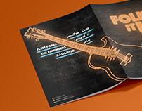 """Folk it Up"" Bilingual Festival Booklet"
