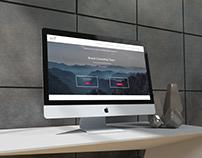 Création du site de Brand Consulting Team