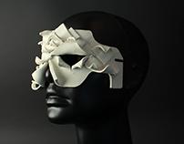 Three Dimensional Design Contrast Clay Masks