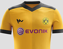 2016 Borussia Dortmund Kit Concepts by Metcalfe