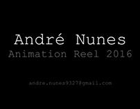 Animation Reel 2016