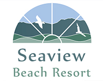 Logo Design for Seaview Beach Resort