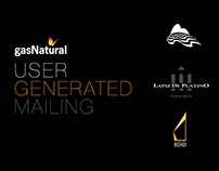 User Generated Mailing - Gas Natural Argentina
