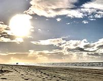 Beach by Girish Vasharambhai Bagadia