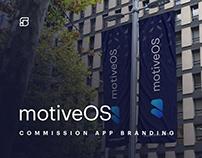 motiveOS - realtime commission app branding