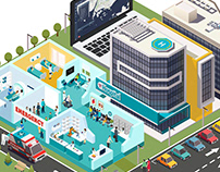 Illustrations for NCS Singapore: Smart City