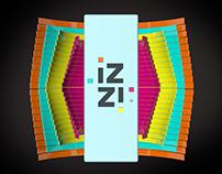 IZZI Telecom - Totems : Brand IDs