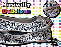 Custom Shoes : Ballet Flats