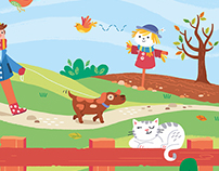 Touch and trace book - Farm