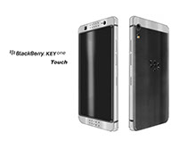 Blackberry KeyOne Full Touch Redesign concept sketch