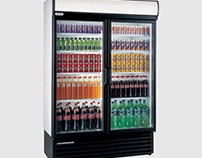 Staycold HD1360 Double Glass Door Upright Bottle Cooler