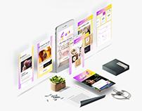 Gems Product Design Concept iOS App