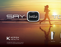 Kersh Health: Activity Monitor Poster