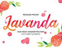 Free Font of the Week - Lavanda