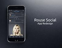 Social App Redesign, 2016.