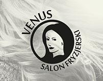 Salon Fryzjerski. Logo.