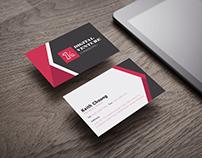 Digital Venture Consulting Name Card Design
