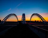 Vimy Bridge at Sunset - Barrhaven, Ontario