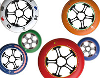 ISPO Golden Award DWS inline skate wheels