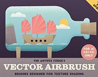 The Vector Airbrush - Grain Shader Brushes