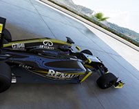 Renault F1 2016 Concept