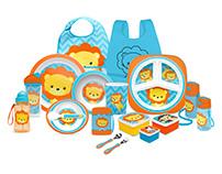 Buba Toys| Animal Fun Meal Collection