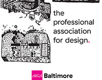 AIGA: Standing Banner Design