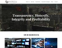 FINTECH CAPITAL- Landing Page Design for Blockchain