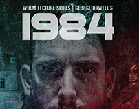 George Orwell Lectures Poster