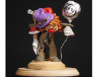 Chuckles the Clown Sculpt