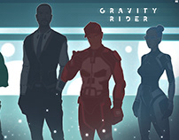 'GRAVITY RIDER' characters concept art