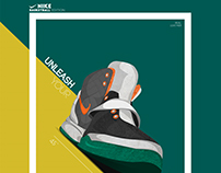Nike Minimalis Poster Design