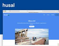 Desarrollo de Sitio Web — Husal