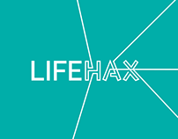 LIFEHAX - Event branding