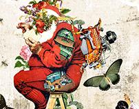 Collage Artwork 121-123