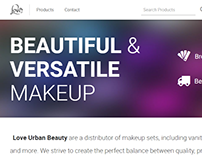 Love Urban Beauty Website