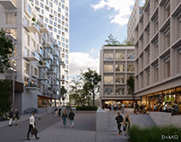 Mixed-use in Gdynia, Poland
