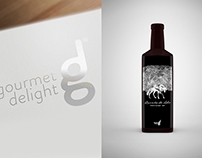Gourmet Delight - logo and packaging