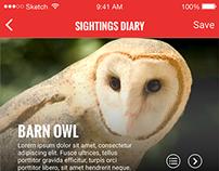 Ring of Cork Bird Trails App Designs